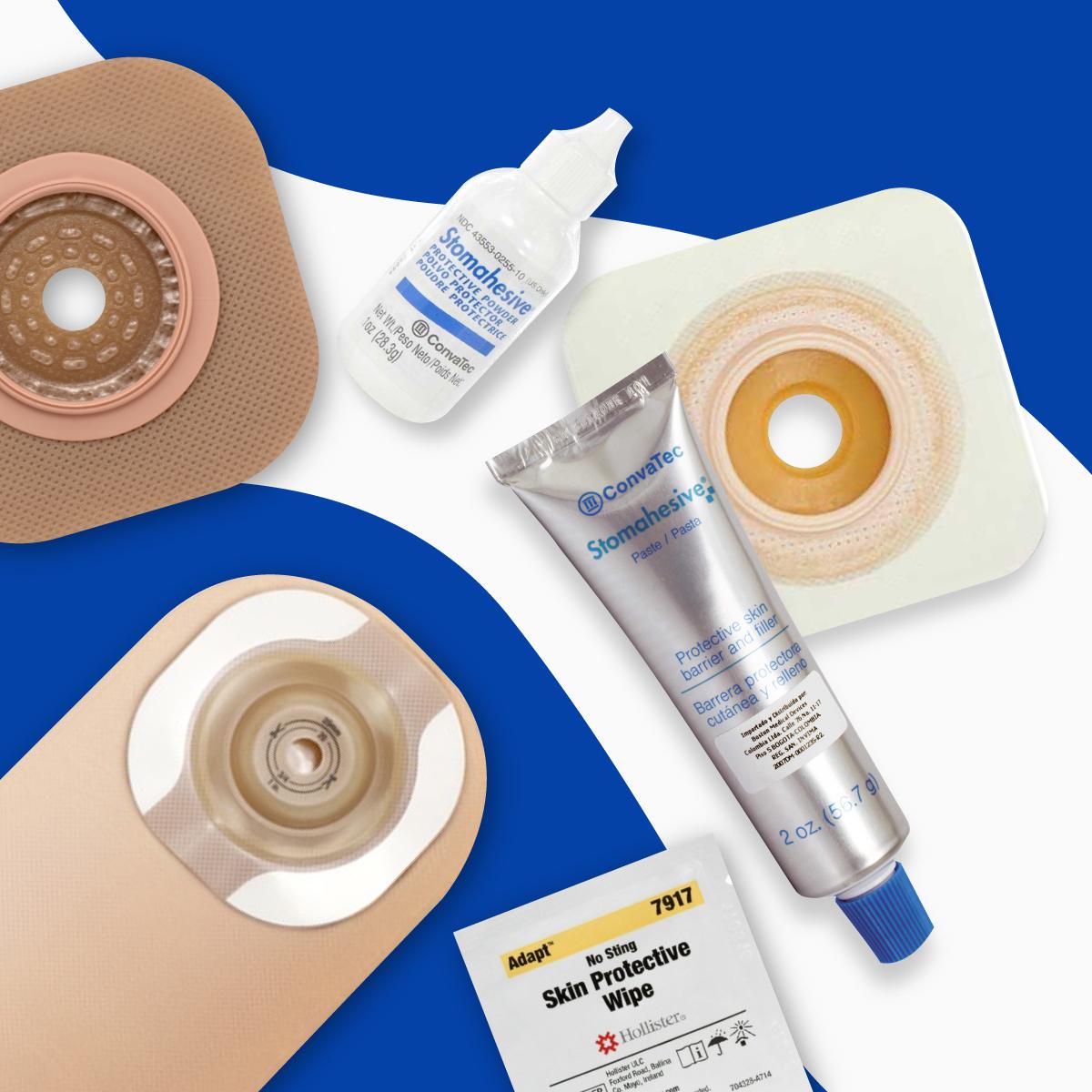 Productos para el cuidado de ostomías